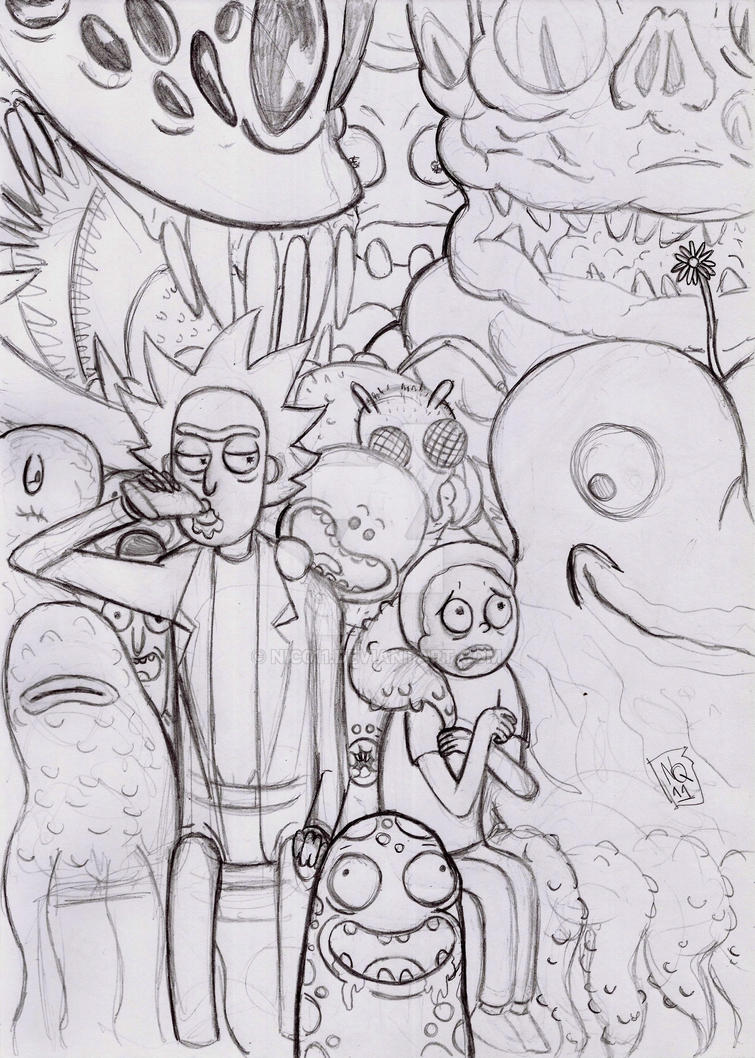 Rick and Morty by nic011
