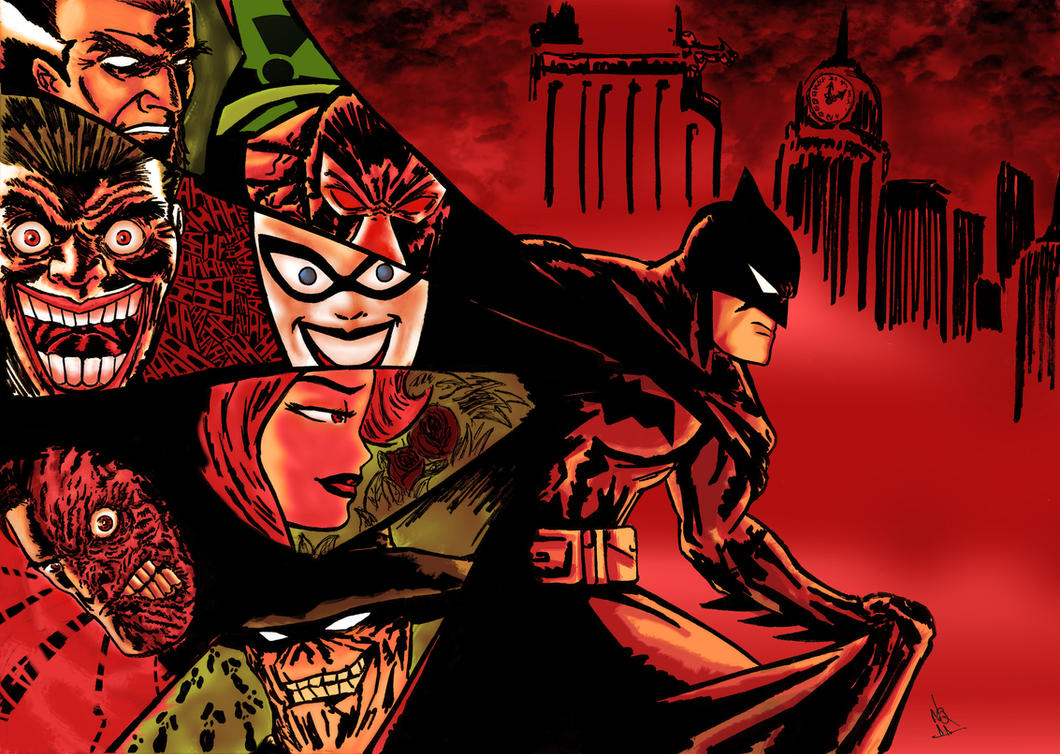 the batman by nic011