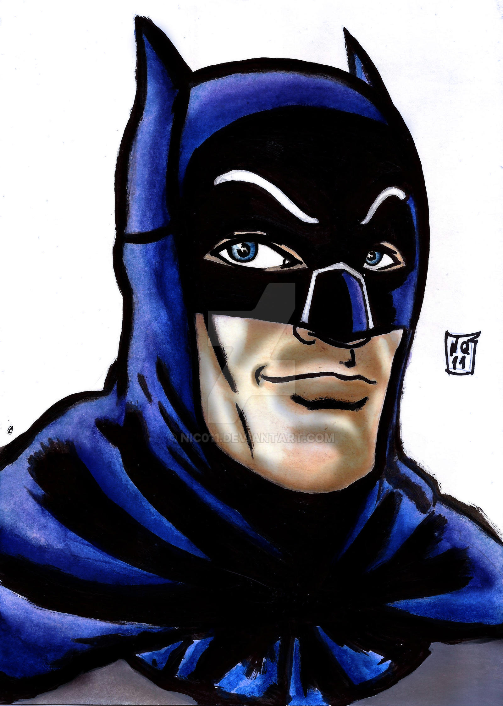 Batman'66 by nic011