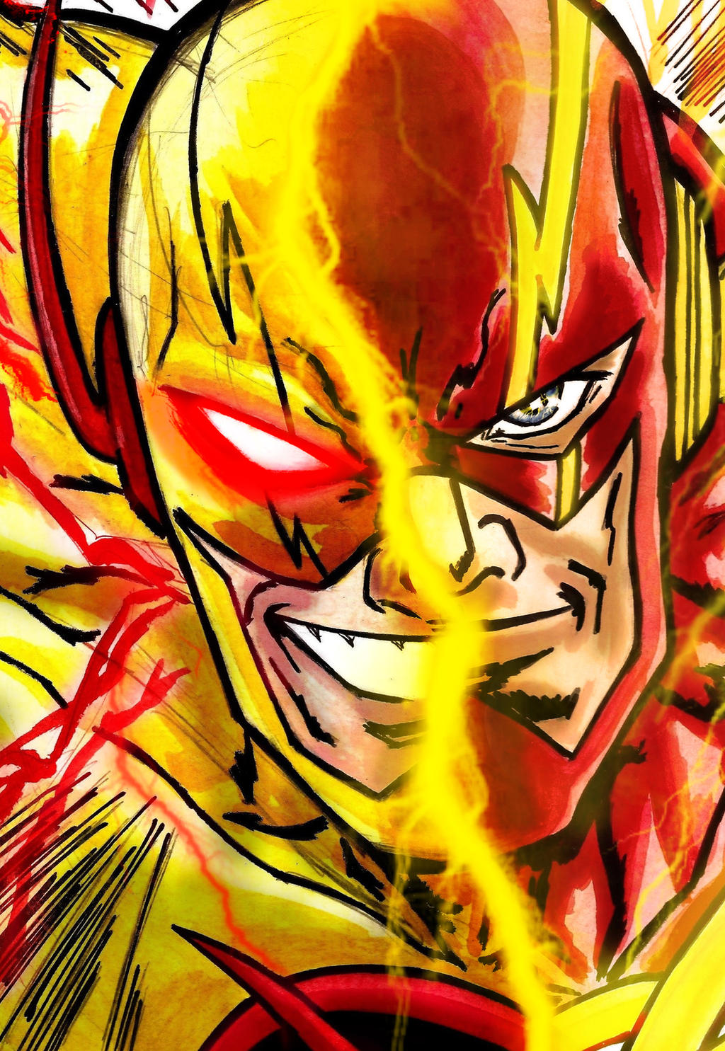 The Reverse/Flash by nic011