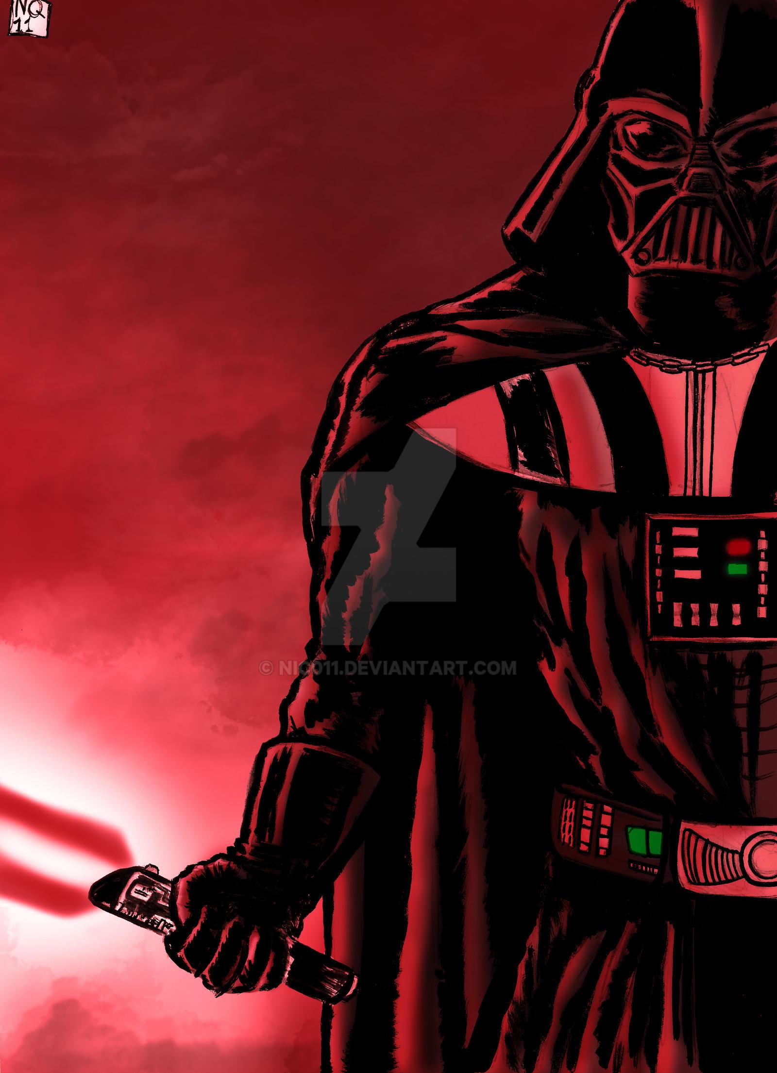 Darth Vader by nic011