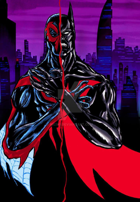 Batman Beyond/ Spider-man 2099 by nic011