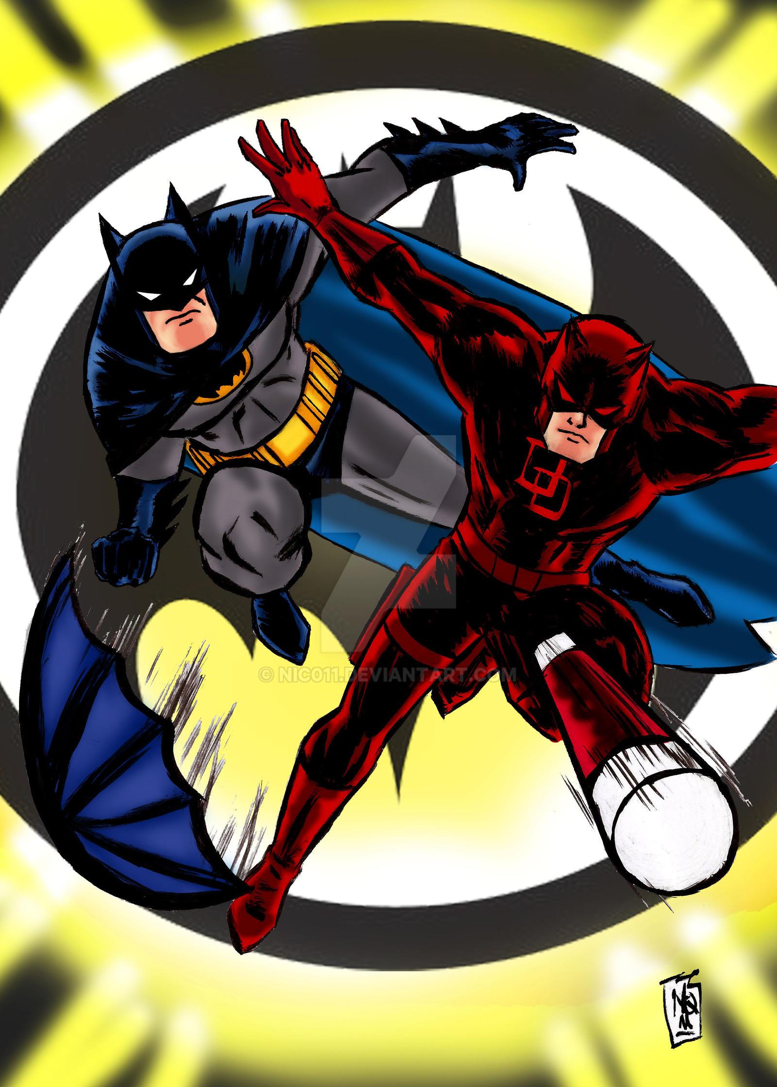 batman DD adventure by nic011