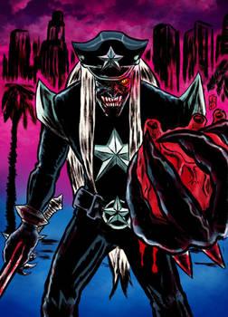 Death Metal Zombie Cop L.A.'snightmare