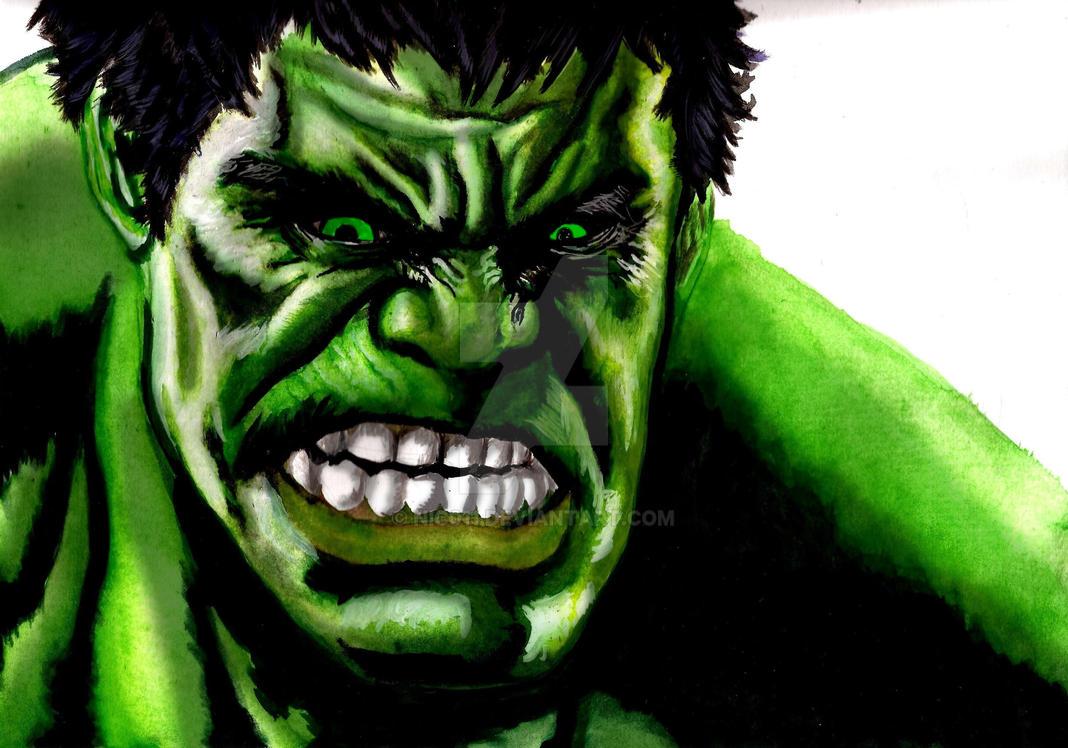 The Hulk by nic011
