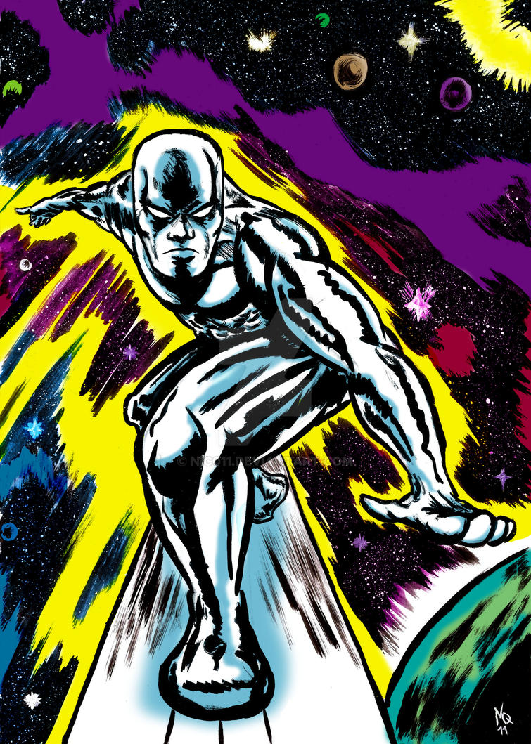 Silver Surfer by nic011
