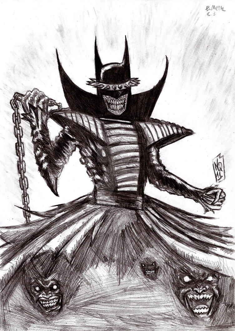 The BatMan Who Laughs by nic011