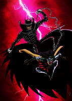 the batman who laughs colors by nic011