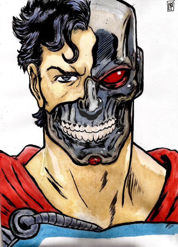 Ciborg Superman by nic011