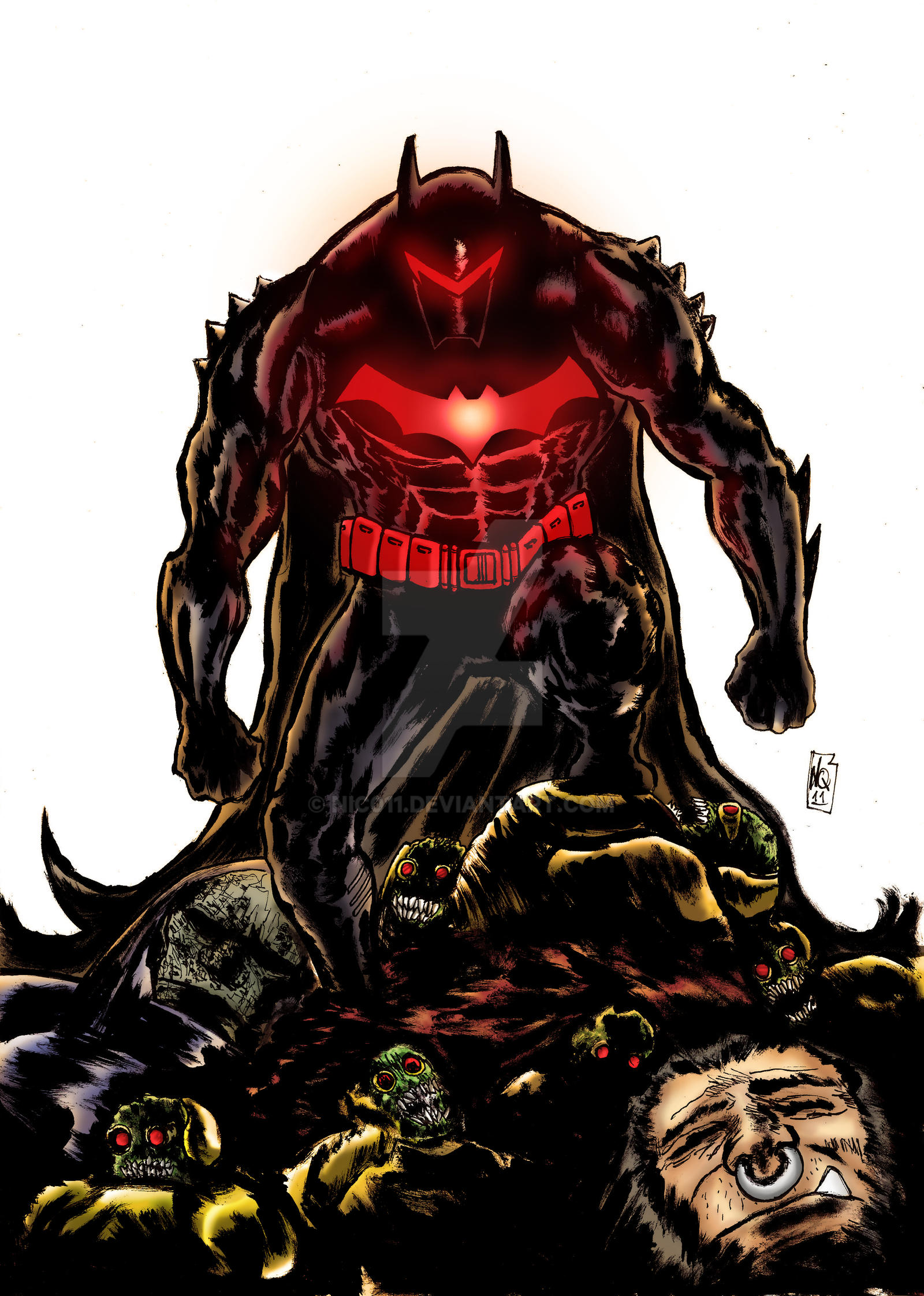 Hellbat Color by nic011