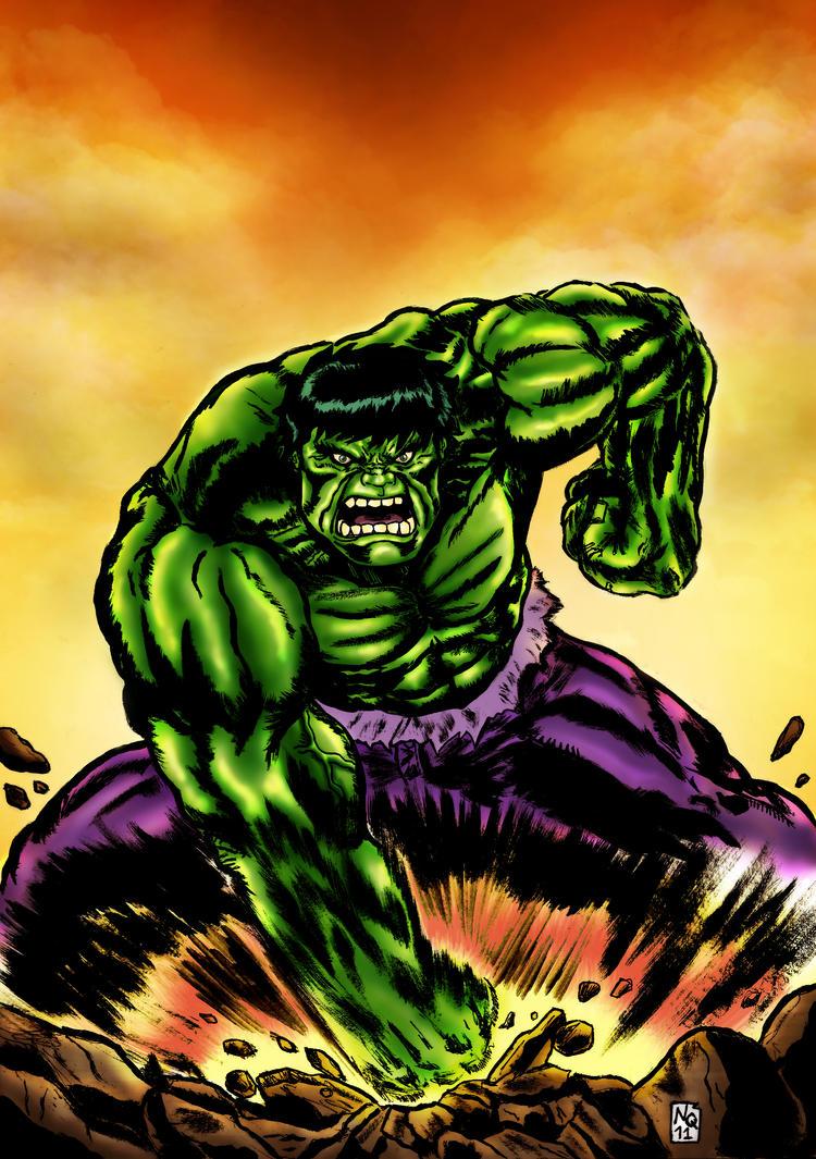 Hulk Smash! by nic011