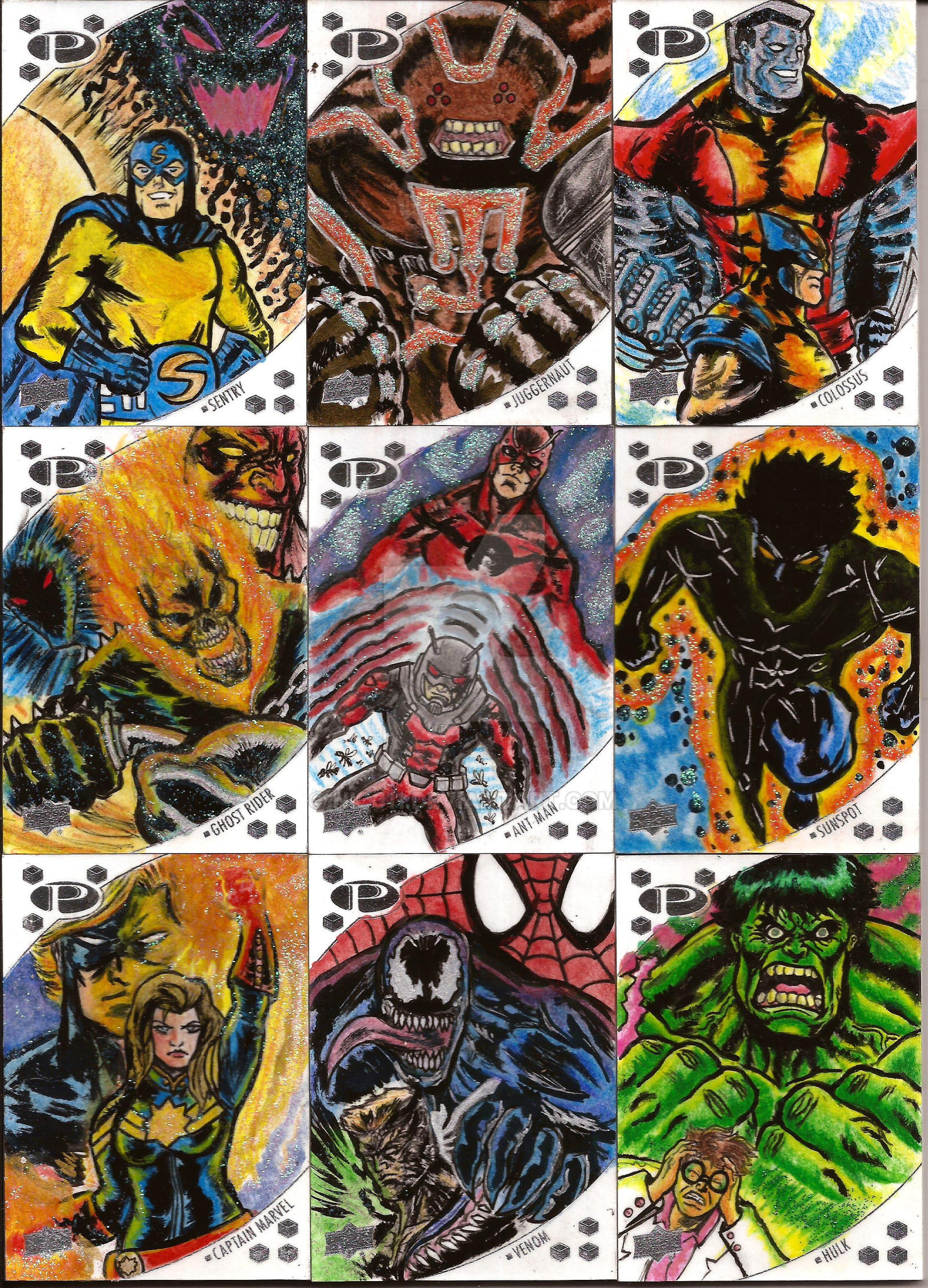 Marvel Upperdeck 2 by nic011