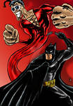 Batman VPlasticman