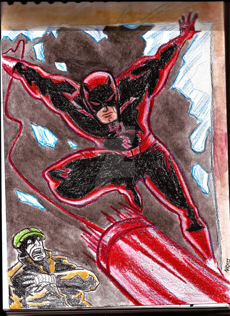 Daredevil the mn without fear by nic011