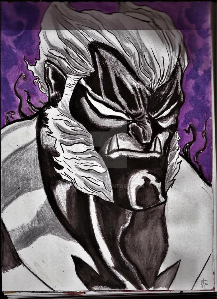 wolverine venom verse by nic011