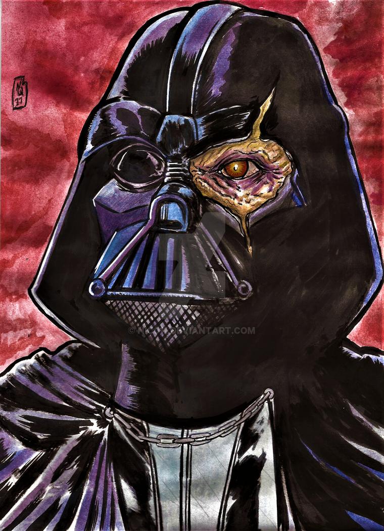 Darth Vader bust by nic011