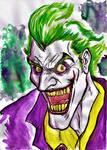joker water color
