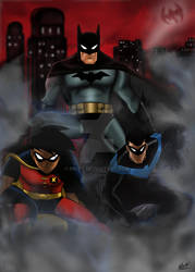 Batman the new adventures by nic011