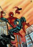 Spider-man  Scarlet and Venom