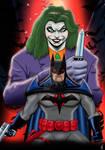 Batman The Adventure Continues Flashpoint Batman by nic011