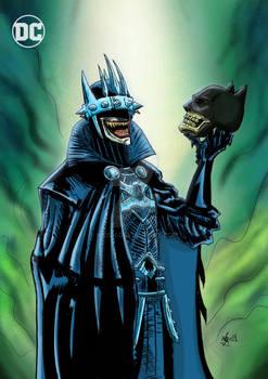 The Batman Who Laughs Death Metal Color