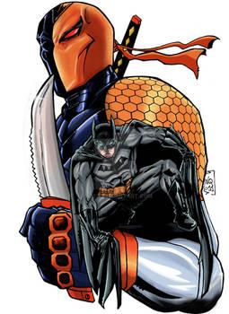 Batman Deathstroke