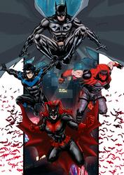 Batfam 3 by nic011