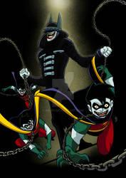 Batman TAS the batman who laughs by nic011