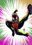 Ultimate Spider Man by nic011