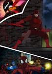Ultimate Spiderman Daredevil by nic011