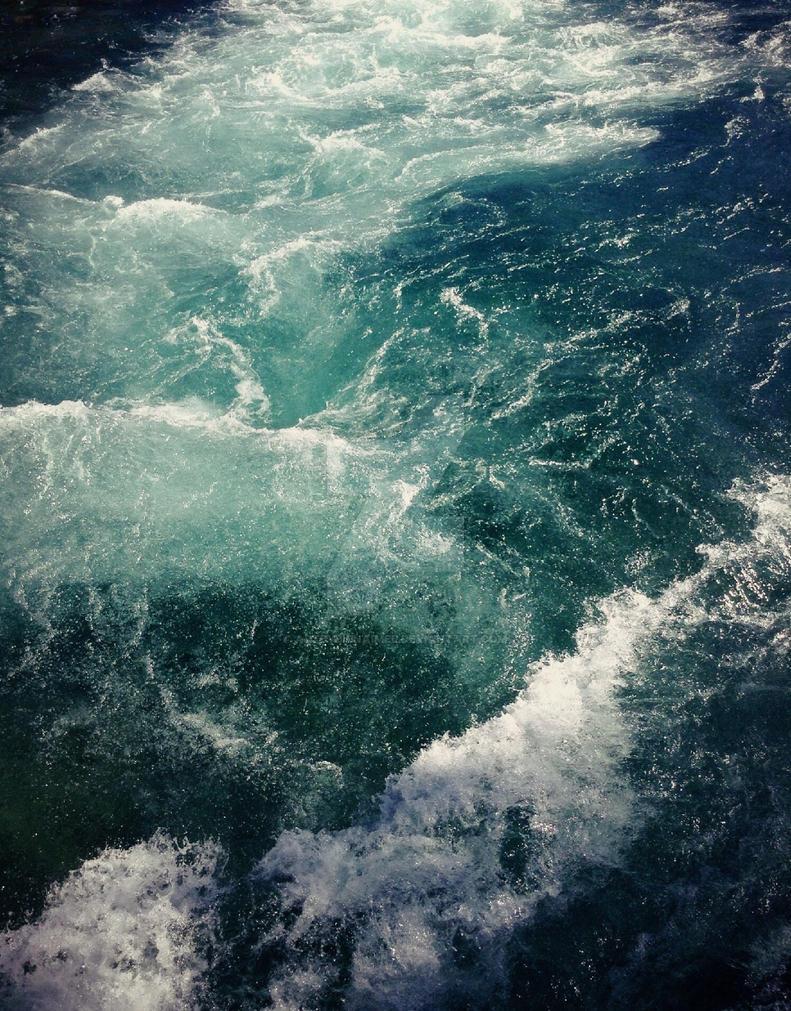 Crashing Water by ARTbyBienAimee