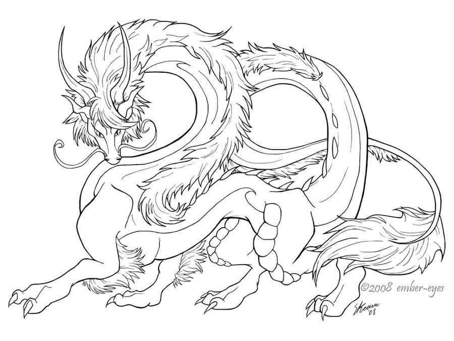 Noble Eastern Dragon by Ember-Eyes on DeviantArt