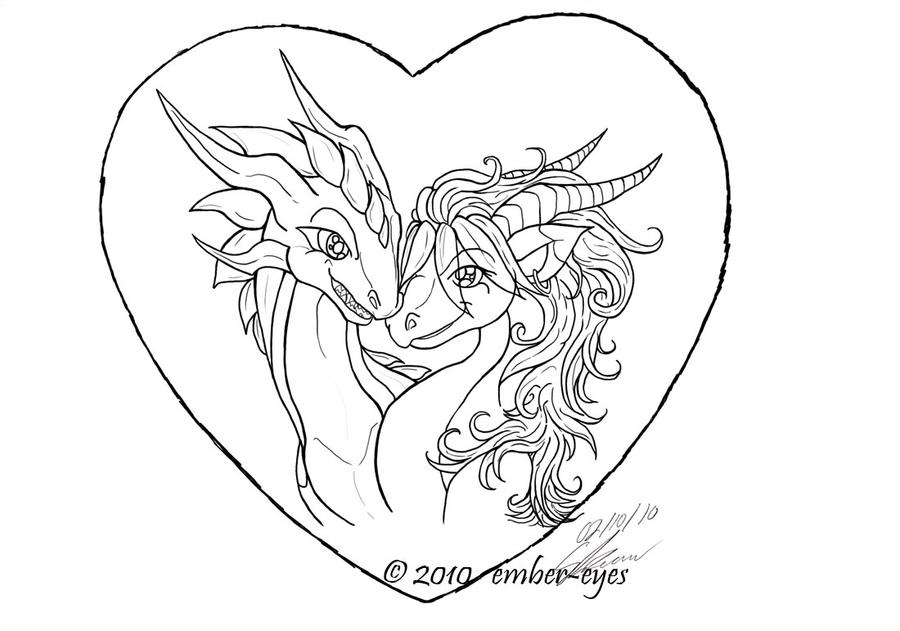 A Dragonu0027s Valentine   Lines By ...