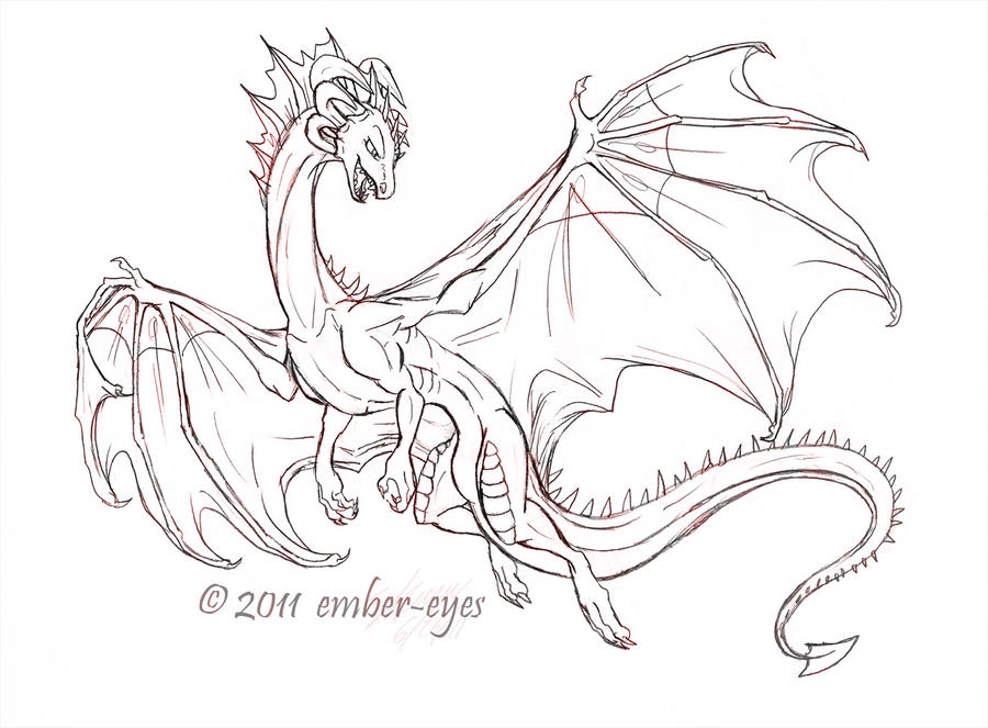 Gallery European Dragons In Flight