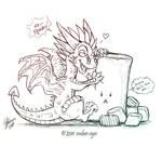 Dragon + Marshmallow
