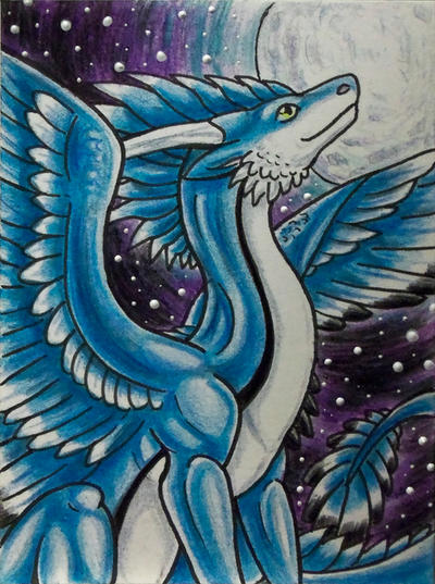 ACEO - Rathios (Stargazing) by Ember-Eyes