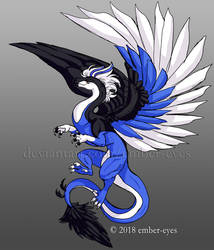 Elyjah the Blue Jay Dragon