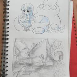 Sketchbook! by PixSweet-Reverie