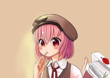 Nini sharing Mikado! by PixSweet-Reverie