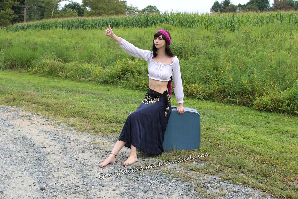 Gypsy traveler stock (2014) by QueenWerandra