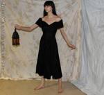 Black dress with lantern stock (2014)