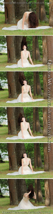 Hair flip motion sequence stock pack I (2015)