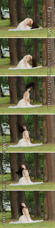 Hair flip motion sequence stock pack II (2015)