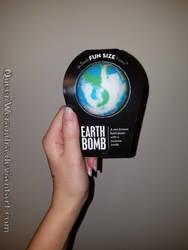 Da Bomb Bath Fizzers: Earth Bomb by QueenWerandra
