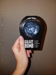 Da Bomb Bath Fizzers: Galaxy Bomb by QueenWerandra