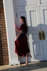 White door by QueenWerandra
