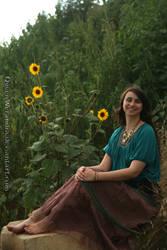 Nature gypsy sunflowers by QueenWerandra