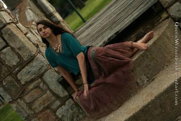 Earthy gypsy girl by QueenWerandra