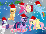Merry Christmas from the Main 6! ^^