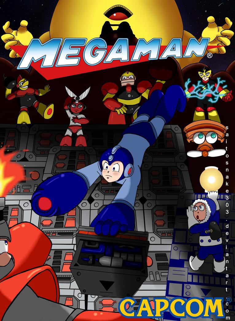 Go, go, Megaman! by SaitoSnake303